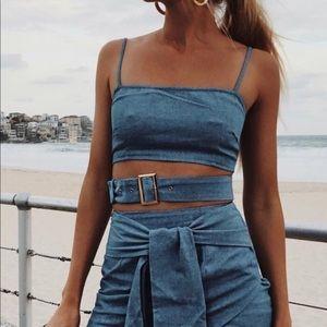 Sabo skirt buckle top
